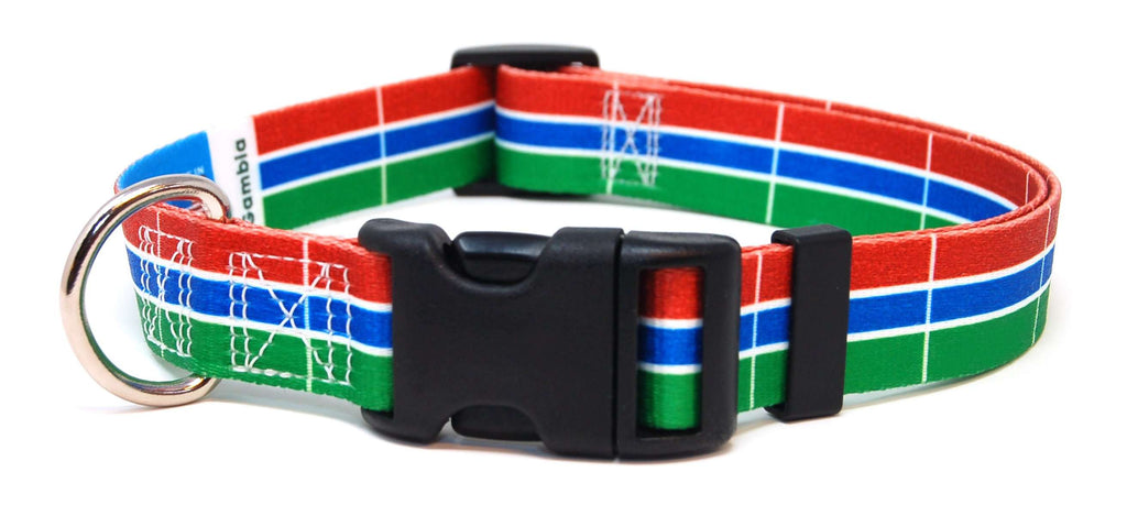 Gambia Flag Dog Collar | Cat Collar | Leash