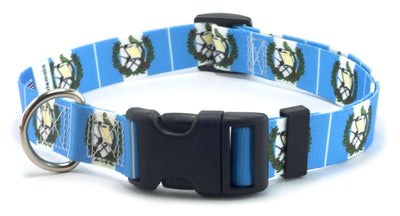 Guatemala Flag Dog Collar