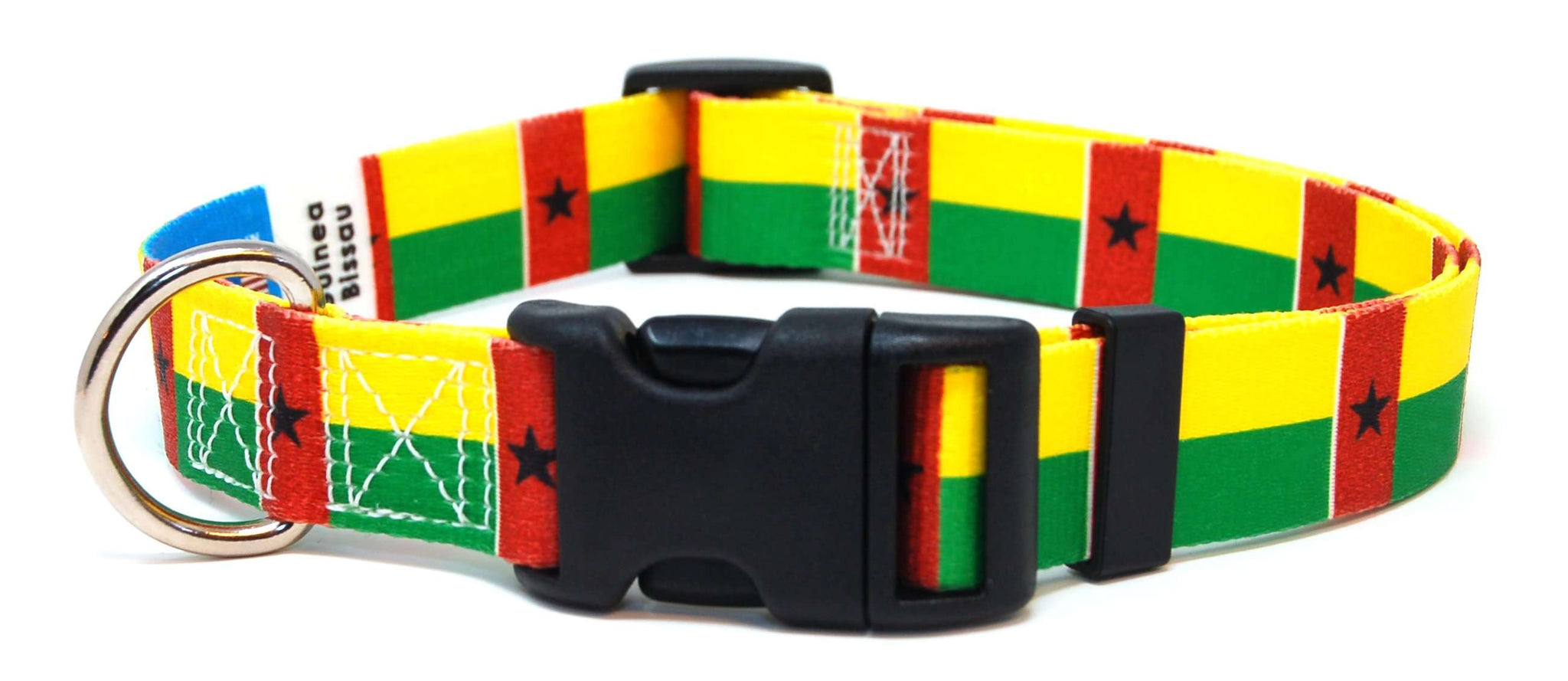 Guinea-Bissau Bissau-Guinean Dog Collar | Cat Collar | Leash | Flag