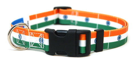 India  Flag Dog Collar | Indian