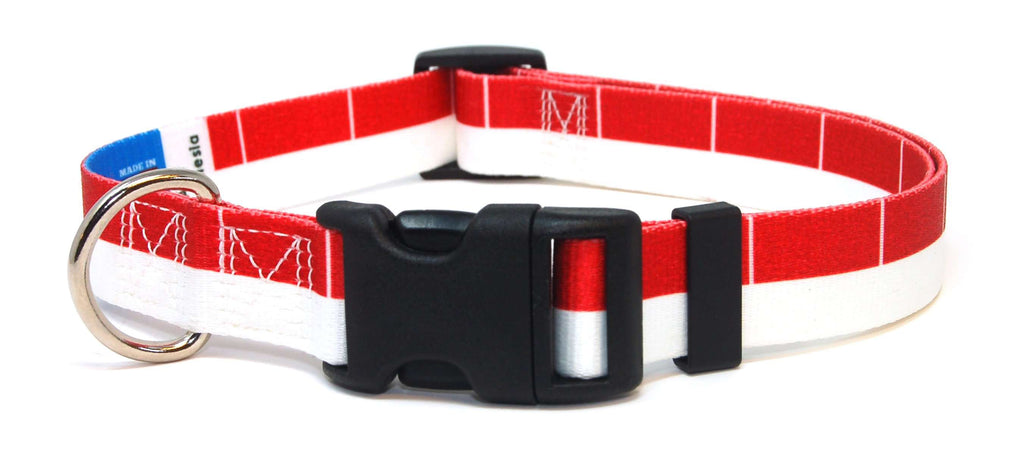 Indonesia Flag Dog Collar | Cat Collar | Leash