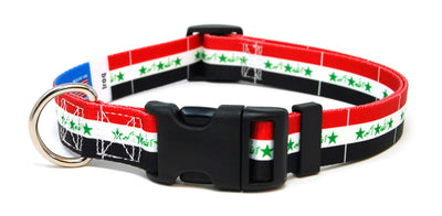 Iraq Flag Dog Collar | Cat Collar | Leash