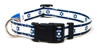 Israel Flag Dog Collar | Cat Collar | Leash