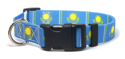 Kazakhstan Flag Dog Collar | Cat Collar | Leash