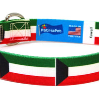 Kuwait Flag Dog Collar