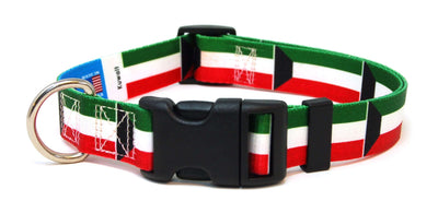 Kuwait Flag Dog Collar | Cat Collar | Leash