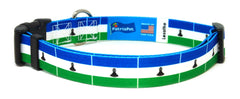 Lesotho Sotho Dog Collar | Cat Collar | Leash | Flag
