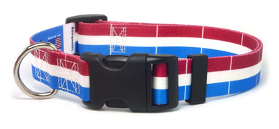 Luxembourg Flag Dog Collar