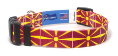 Macedonia Macedonian Dog Collar | Cat Collar | Leash | Flag