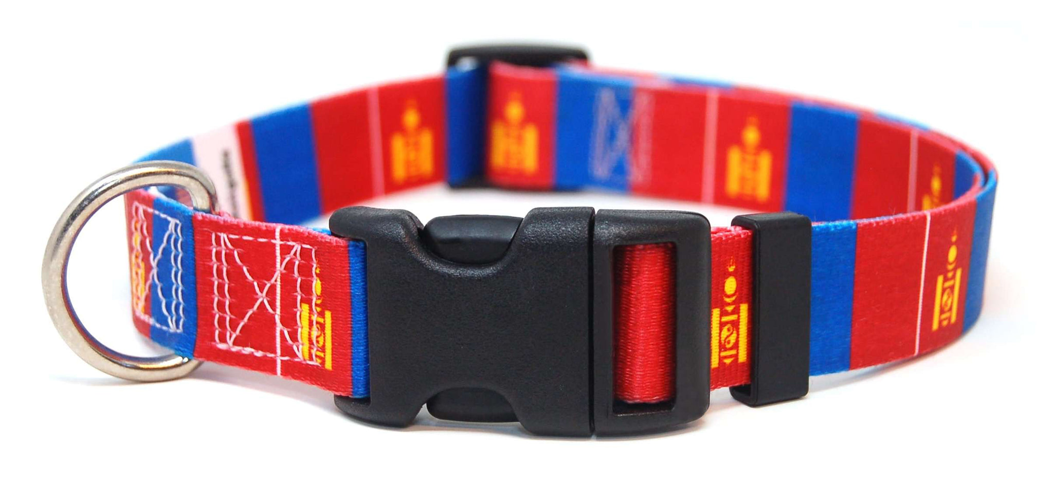 Mongolia Mongolian Dog Collar | Cat Collar | Leash | Flag