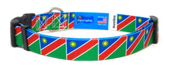 Namibia Namibian Dog Collar | Cat Collar | Leash | Flag