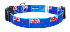 New Zealand - New Zealander Flag Dog Collar