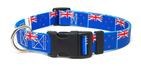 New Zealand New Zealander Dog Collar | Cat Collar | Leash | Flag