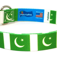 Pakistan Flag Dog Collar | Cat Collar | Leash