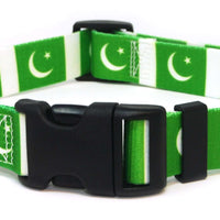 Pakistan Flag Dog Collar