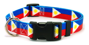 Philippines Flag Dog Collar