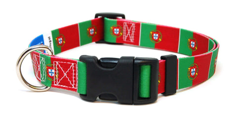 Portugal - Portuguese Flag Dog Collar