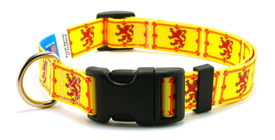 Scotland Royal Banner Flag Dog Collar | Cat Collar | Leash