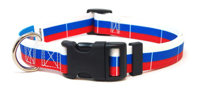 Russia Flag Dog Collar | Cat Collar | Leash