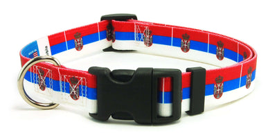 Serbia Flag Dog Collar | Cat Collar | Leash