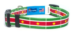 Suriname Surinamese Flag Dog/Cat Collar
