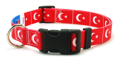 Turkey Flag Dog Collar | Cat Collar | Leash