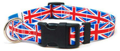 British UK Flag Dog Collar