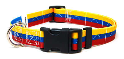 Venezuela Flag Dog Collar | Cat Collar | Leash