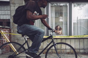 Voyeur: Taylor & The Smoking Bicyclist