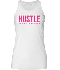 YoungPhysique Women's Tank Tops - Hustle Pink