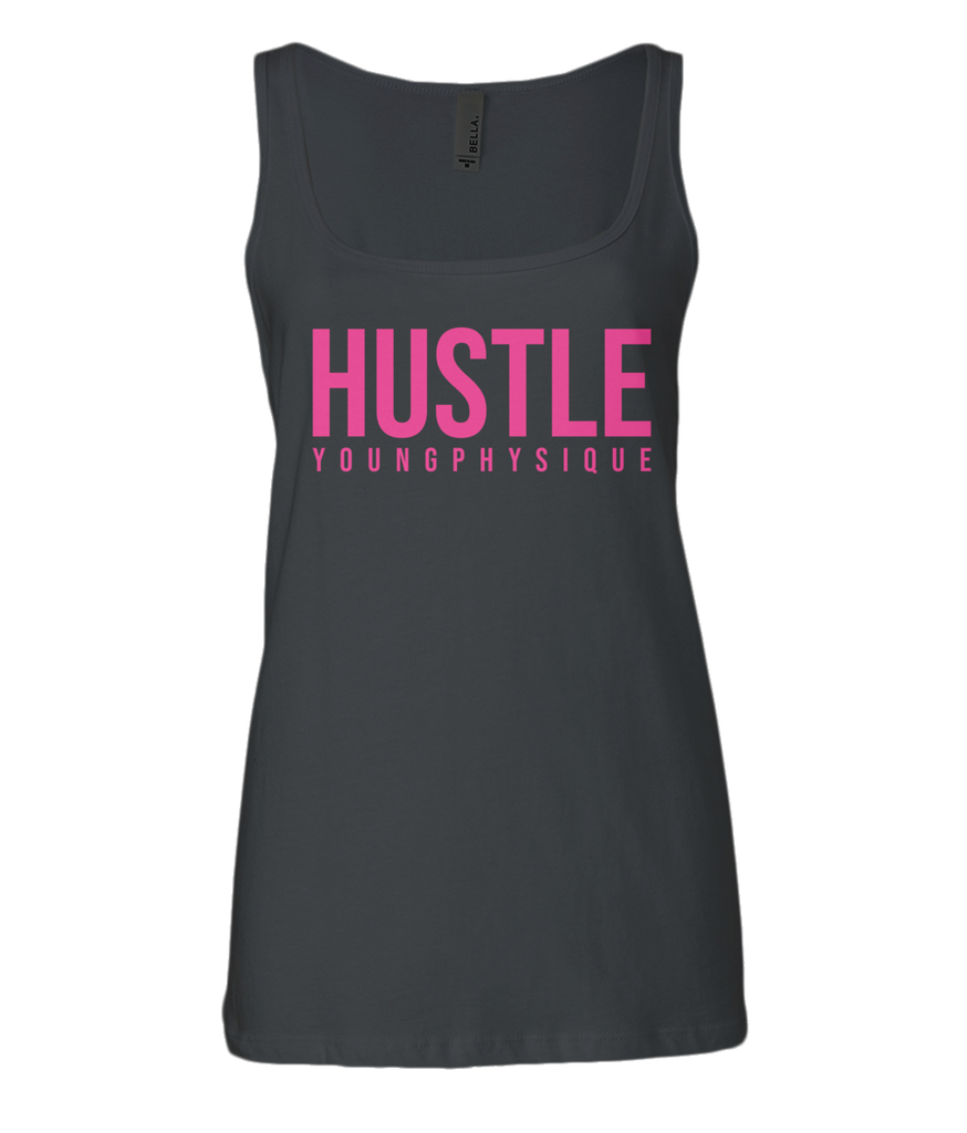 YoungPhysique Jersey Tank Top - Hustle Pink