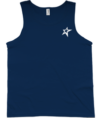 Anvil Fashion Basic Tank Top YoungPhysique---Tank-Top---Star-Icon---White