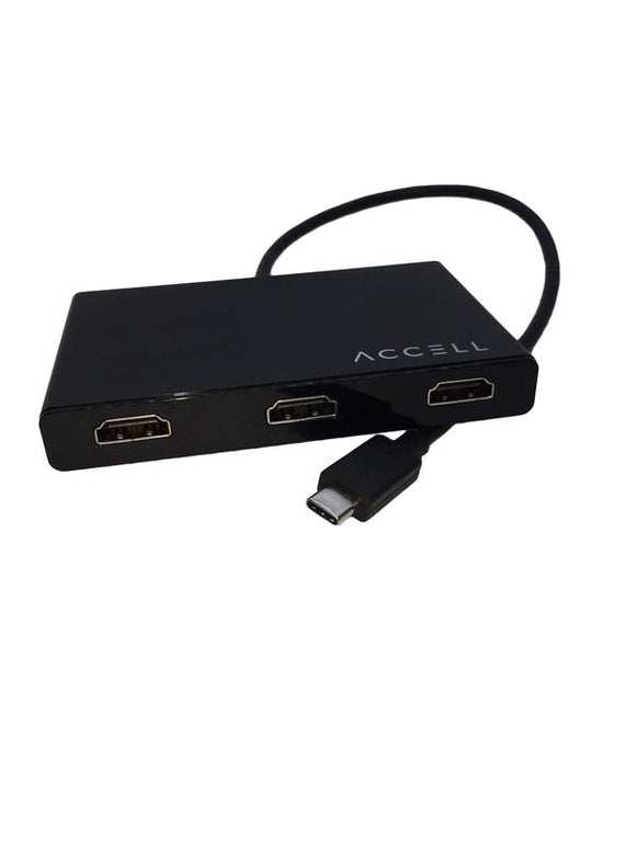 USB-C to 3 HDMI 1.4 Multi-display (MST) Hub