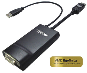 UltraAV® DisplayPort to DVI-D Dual-Link Adaptor