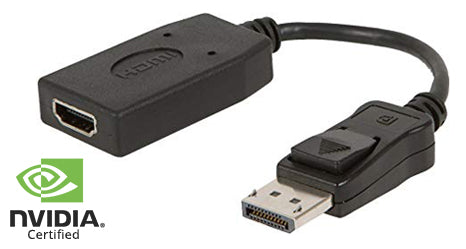UltraAV® DisplayPort 1.2 to HDMI 1.4 Passive Adapter