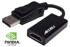 DisplayPort 1.2 to HDMI 2.0 Active Adaptor