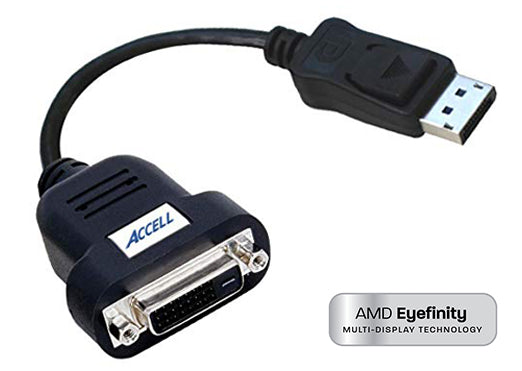 UltraAV® DisplayPort to DVI-D Active Single-Link Adaptor