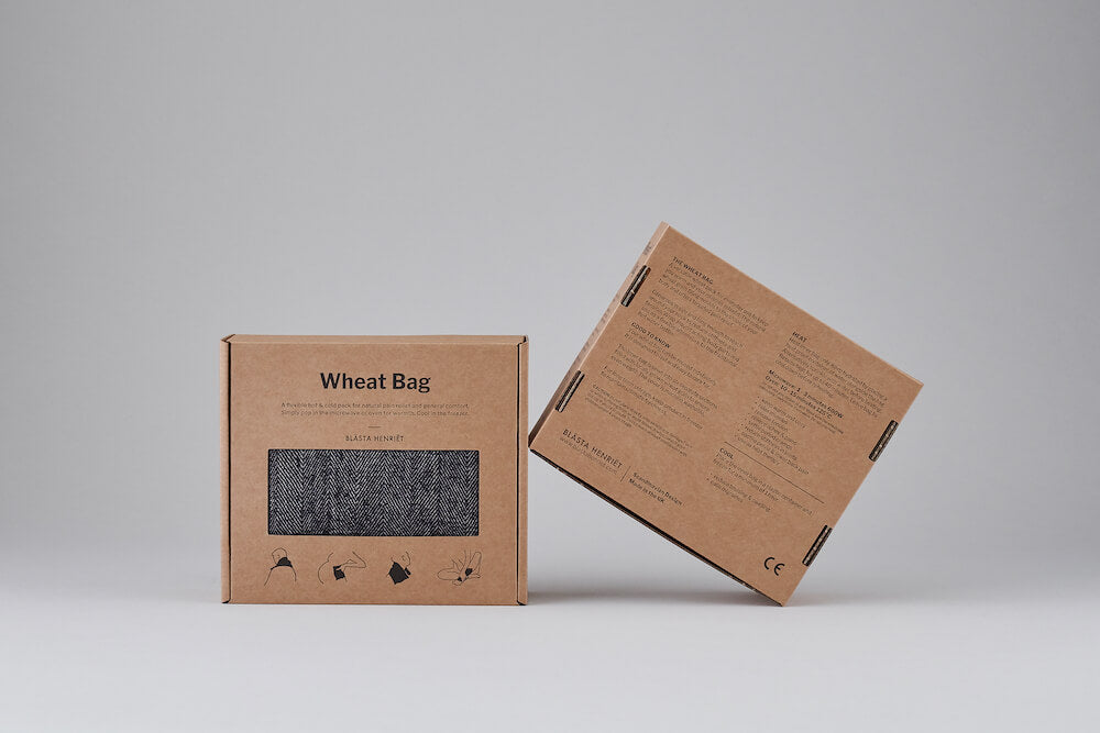 wheat pillow in boxes from Blasta Henriet