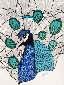 Beautiful Creatures Peacock Inspiration