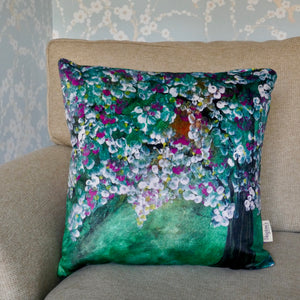 Apple Blossom Luxury designer Cushion