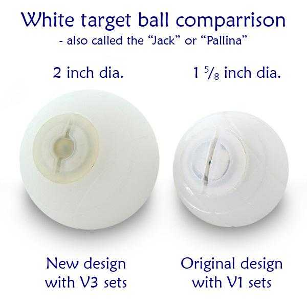 "Replacement 50mm (2"") Jack-Pallina for V3 Glo Bocce - Playaboule"