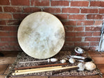 Traditional Native American Frame Drums
