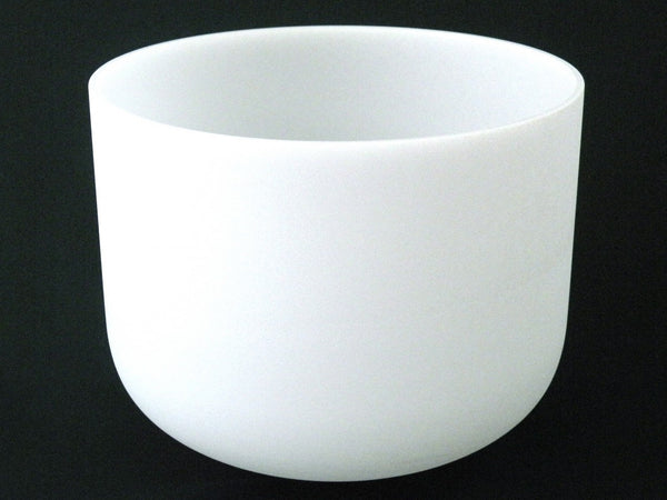 "9"" Frosted Crystal Singing Bowl in G/G#"