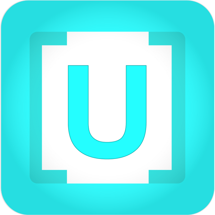 USpace App Button Sticker
