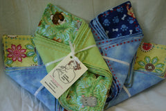 Flannel wash cloths by: A Little Something Extra