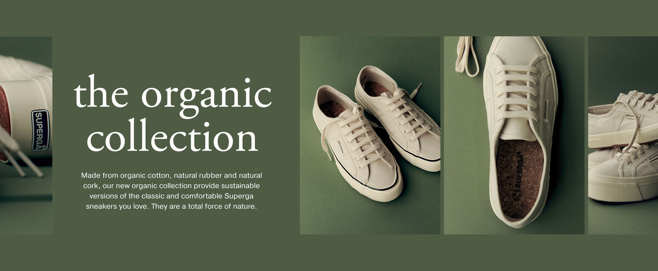 Organic Collection Banner