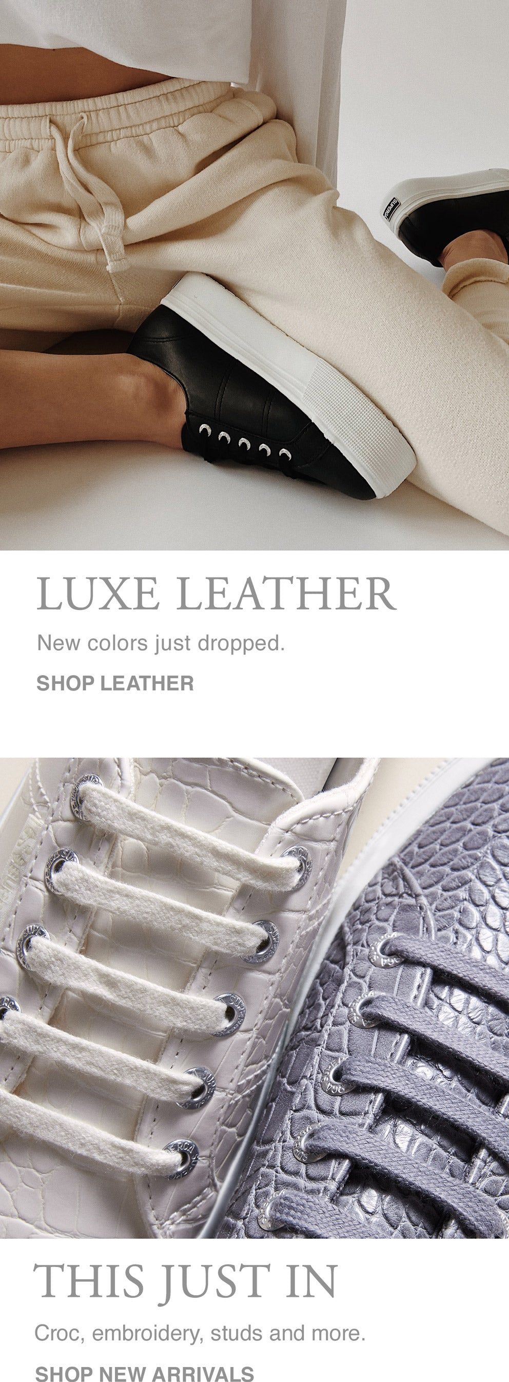 New Arrivals / Leather Banner MobileNew Arrivals / Leather Banner