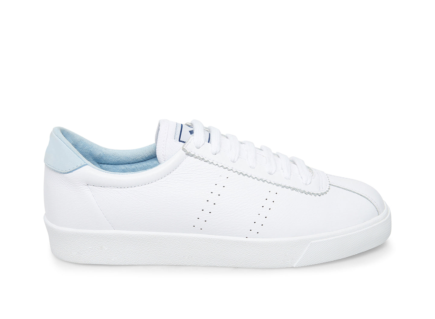 2843 COMFLEAU WHITE BABY BLUE - Women's