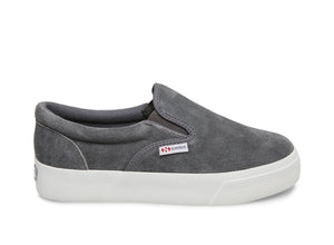 2306 SUEW DARK GREY SUEDE