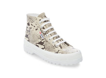2341-SYNTHETIC SNAKEW ALPINA TAUPE SNAKE - Women's